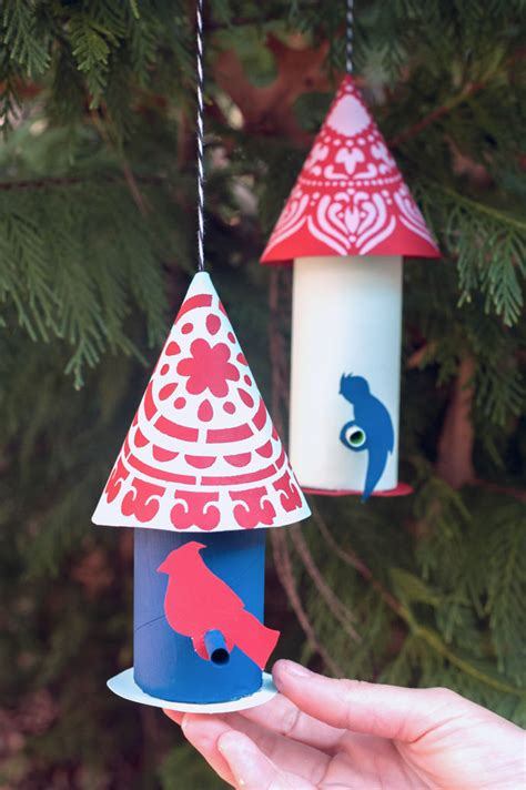 Paper Craft Birds For Your Christmas Tree | Handmade Charlotte